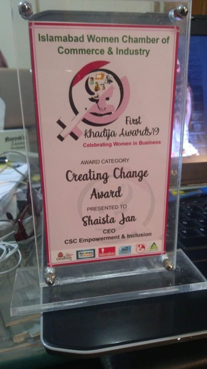 Creating Change Award 2019