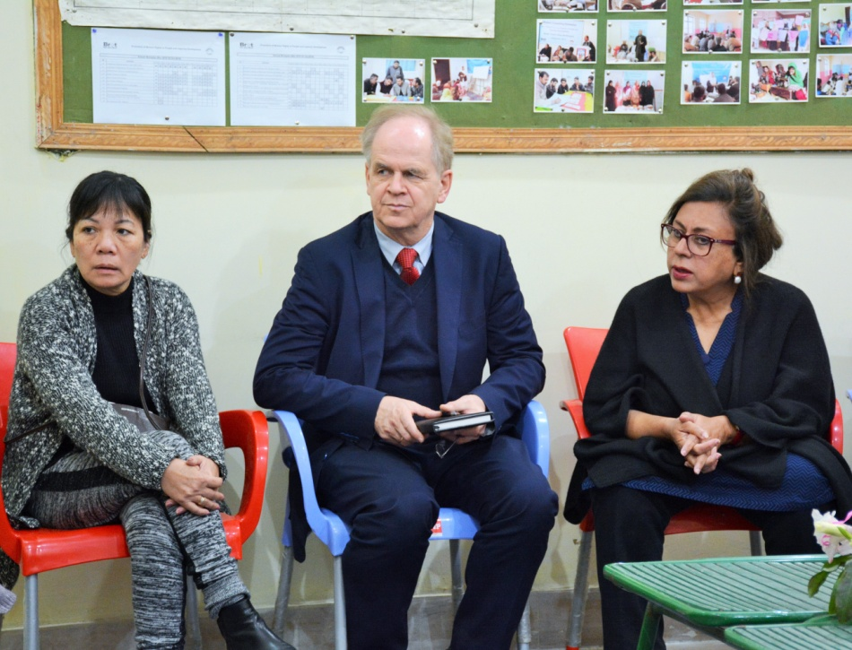 Visit of the German Embassy Officials