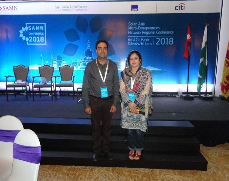 South Asia Micro- Entrepreneurs (SAMN) Network Regional Conference, Colombo, Sri Lanka