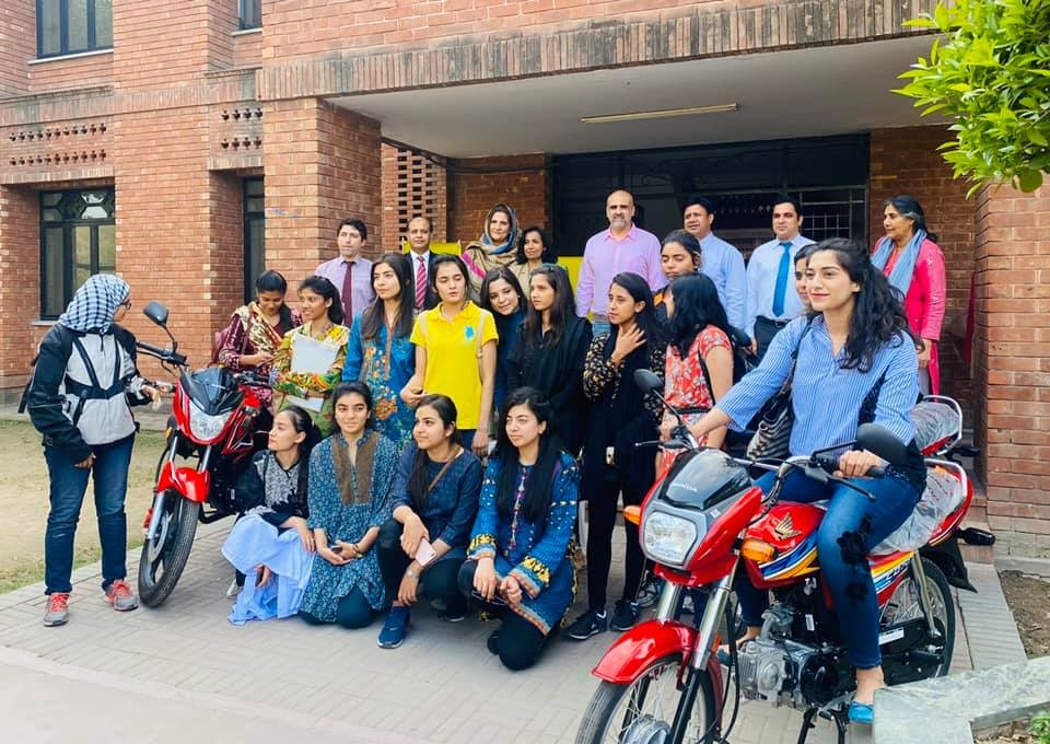 Women On Wheels Project in Partnership with Sufi Foundation