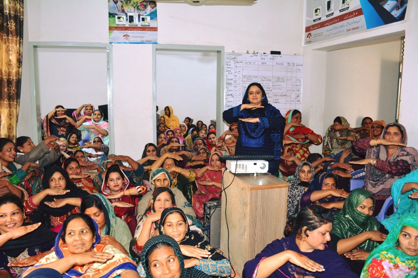 Women's Day; 'Each for Equal' Session