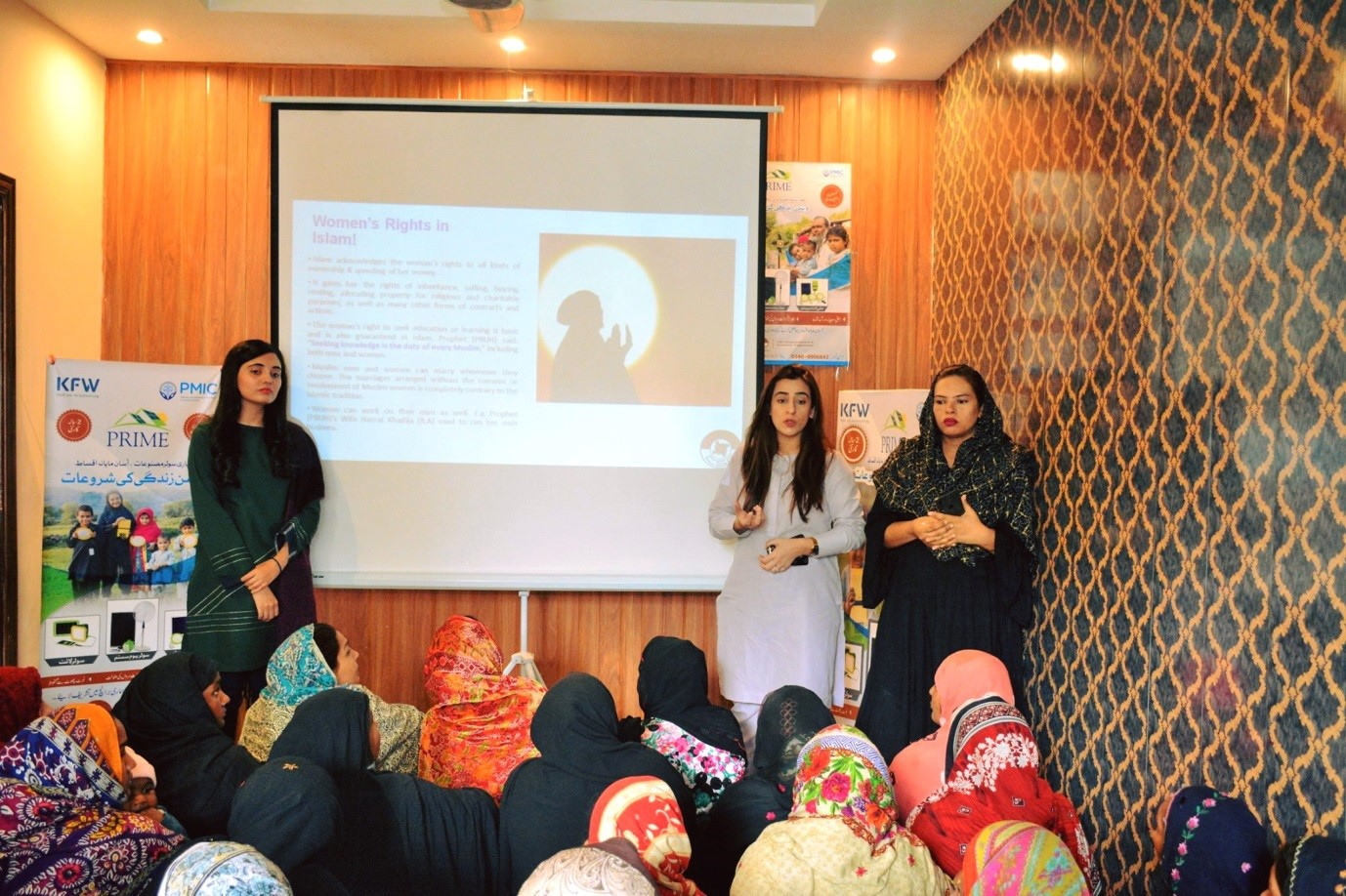 Awareness Session on Women's Day