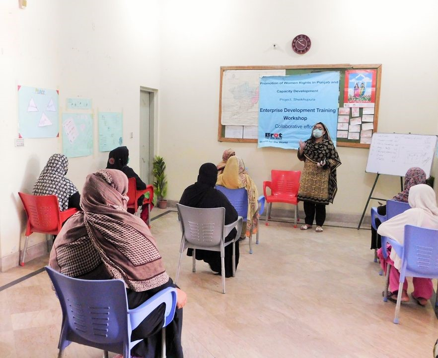 Enterprise Training Program in collaboration with Bread for the World