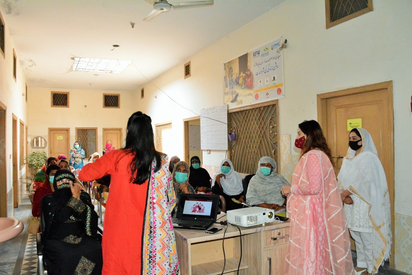 Reproductive Health Camp in Collaboration with Her Ground