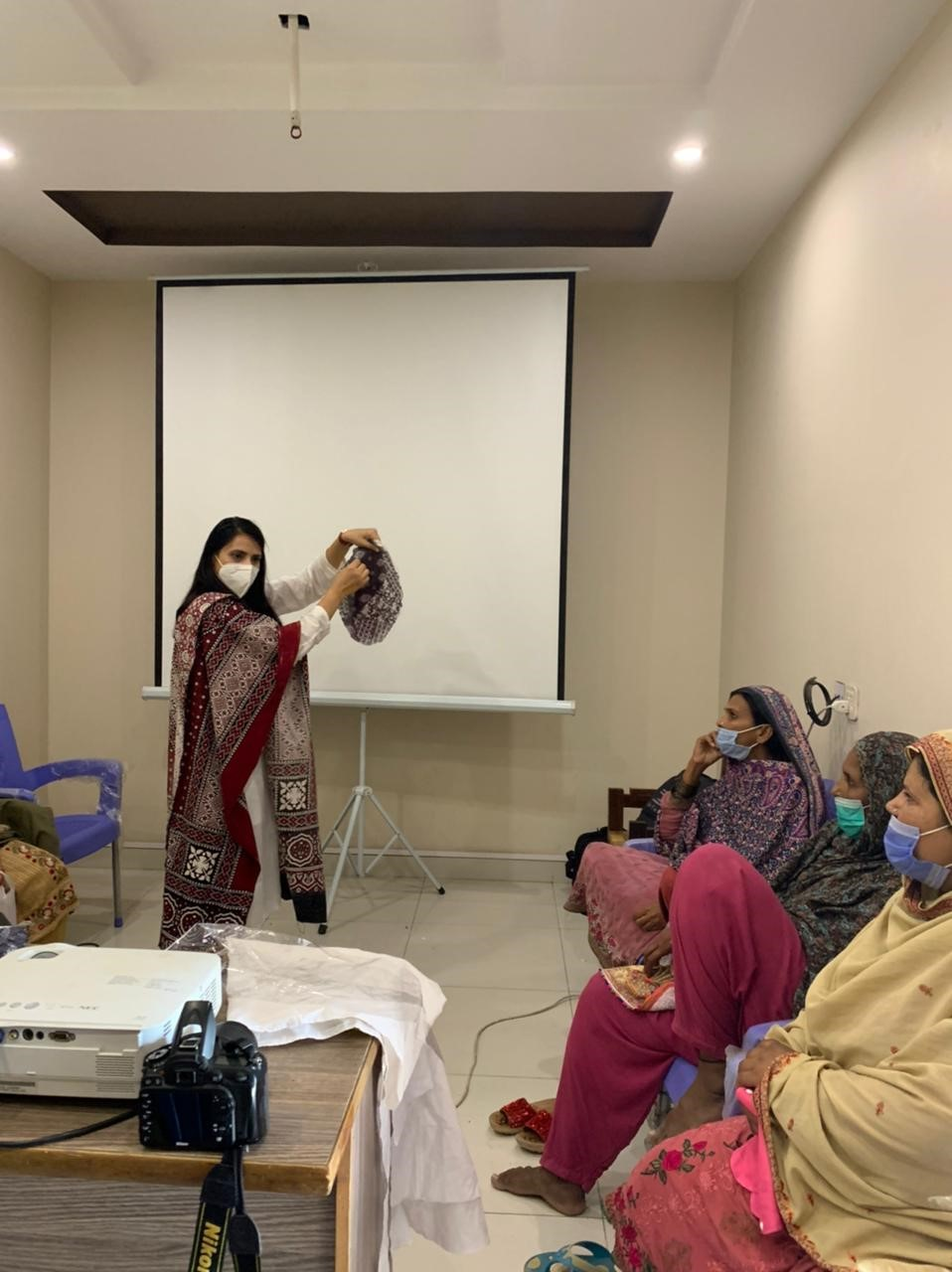 Collaboration with Her Ground to Encourage Menstrual Health