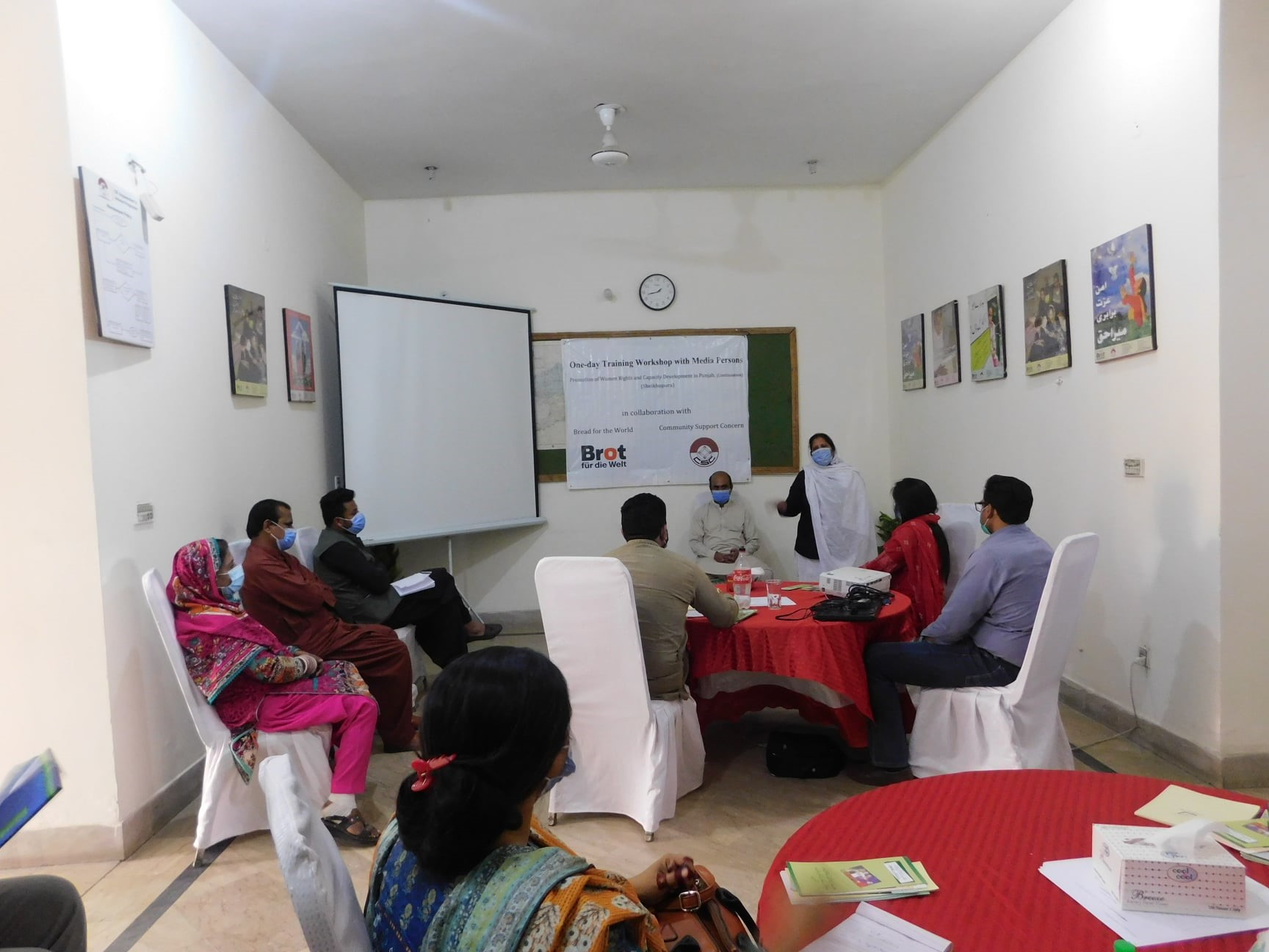 Legal Assistance Workshops on Women Rights