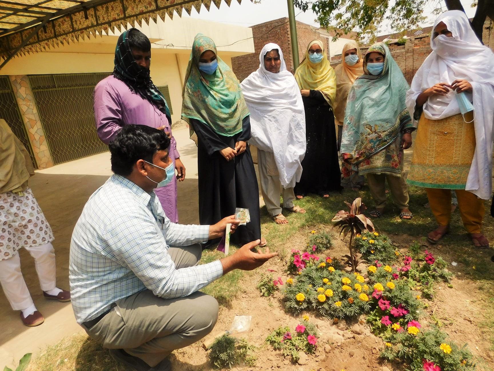 Kitchen Gardening Workshop for Enhancing Food Security