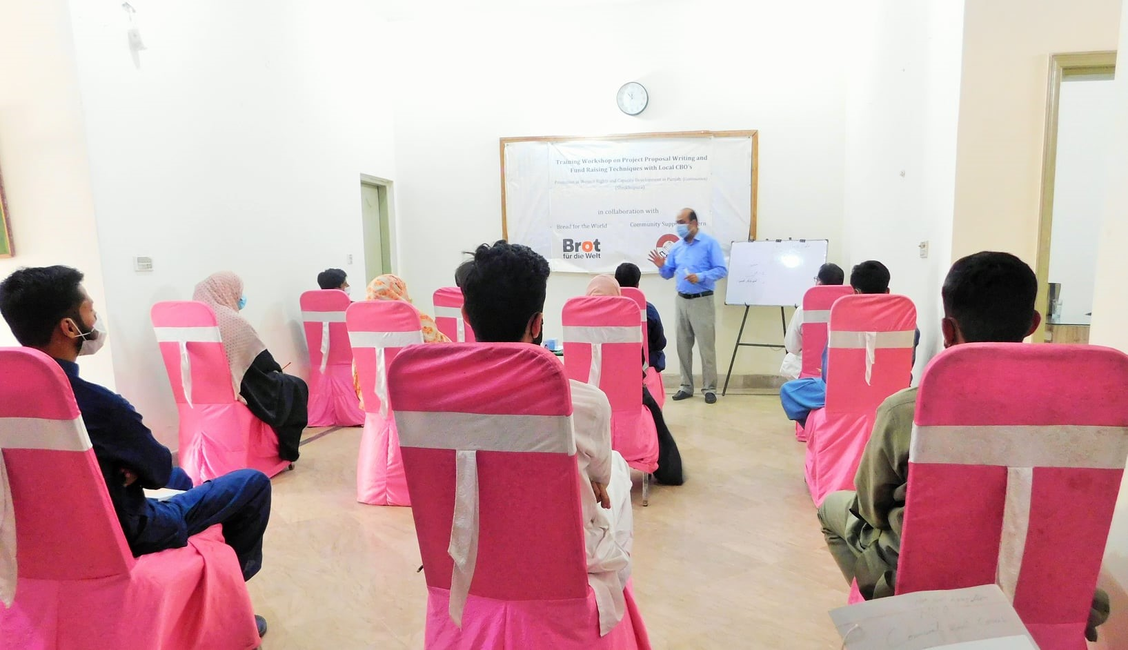 Training Workshop on Proposal Writing and Fund Raising Techniques for PWRCDP Project Sustainability