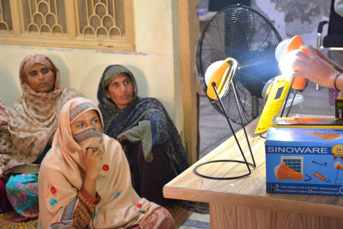 Solar Awareness Session for Rural Women